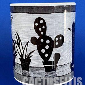 black&white cacti cat0